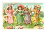 ea-00038-ceaster-greetings-little-girls-with-eggs-posters